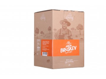 Jablko - broskev 80/20% 5l bag in box