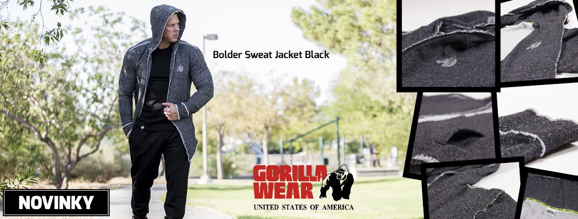 Novinka_Bolder Sweat Jacket Black