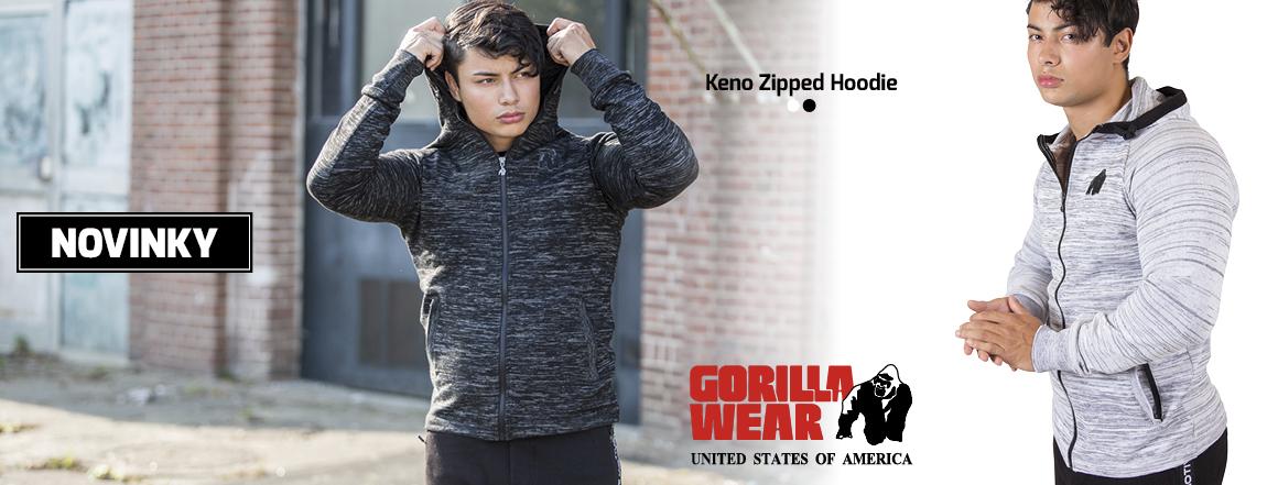 Novinka_Keno Zipped Hoodie