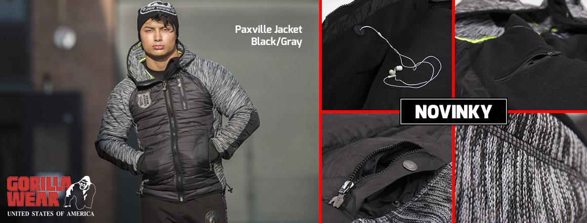 Novinka_Paxville Jacket Black/Gray