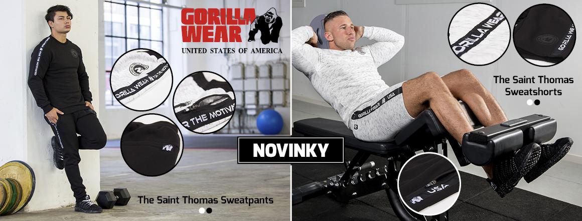 Novinka_The Saint Thomas Sweatpants/Sweatshorts