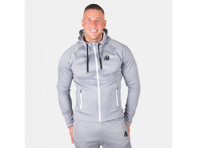 Bridgeport Zipped Hoodie - Silverblue