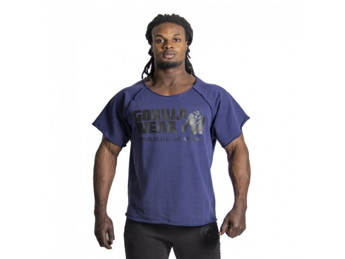 Classic Work Out Top - Modrý