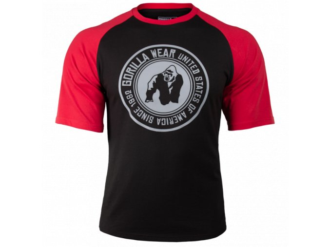90520905 texas t shirt black red 2