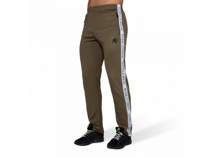 Wellington Track Pants - Olive Green