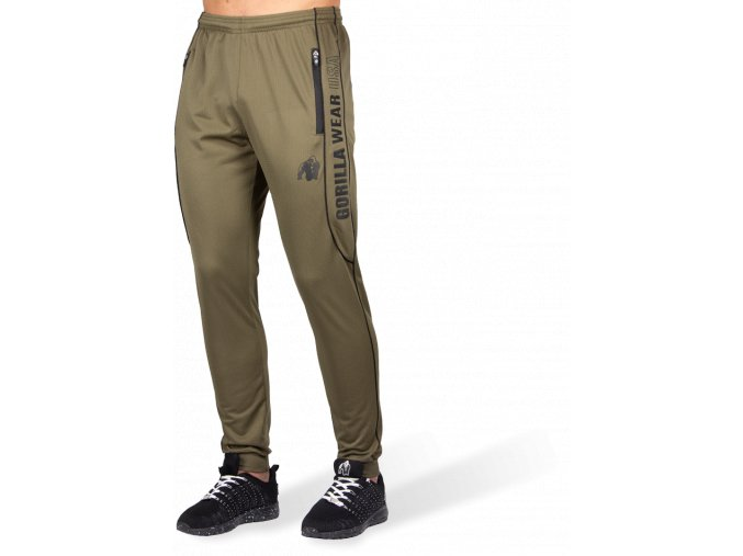 branson pants army green black