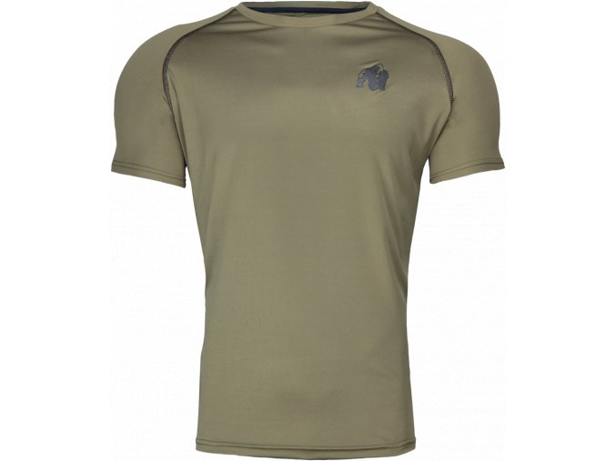 performance t shirt army green