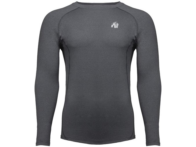 rentz long sleeve dark gray