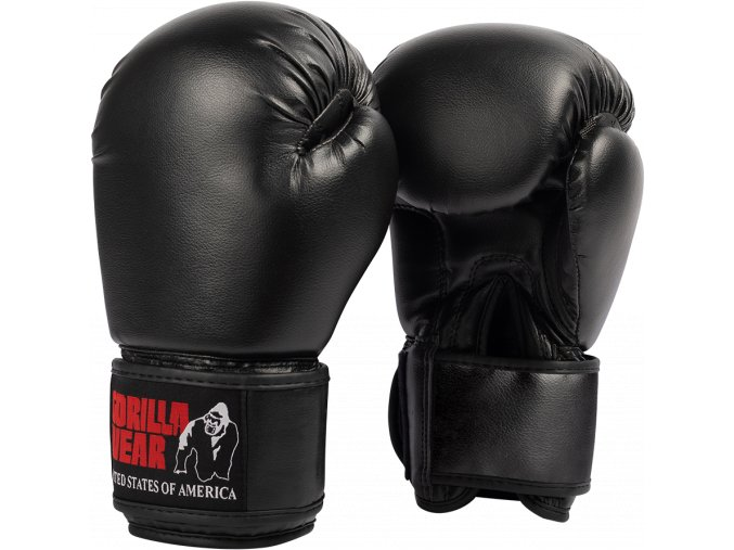 mosby boxing gloves black