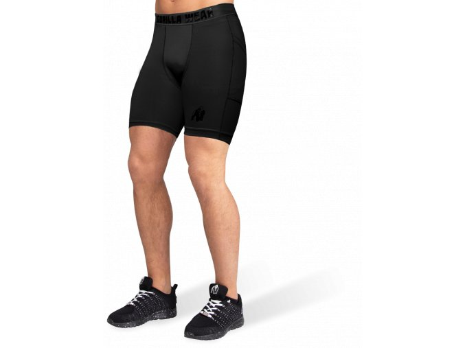 smart shorts black
