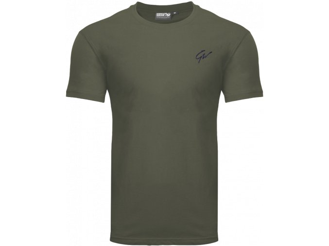 johnson t shirt army green