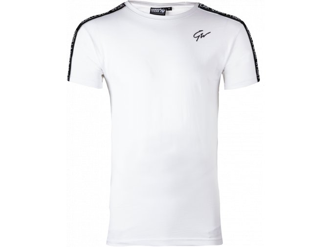 chester t shirt white black