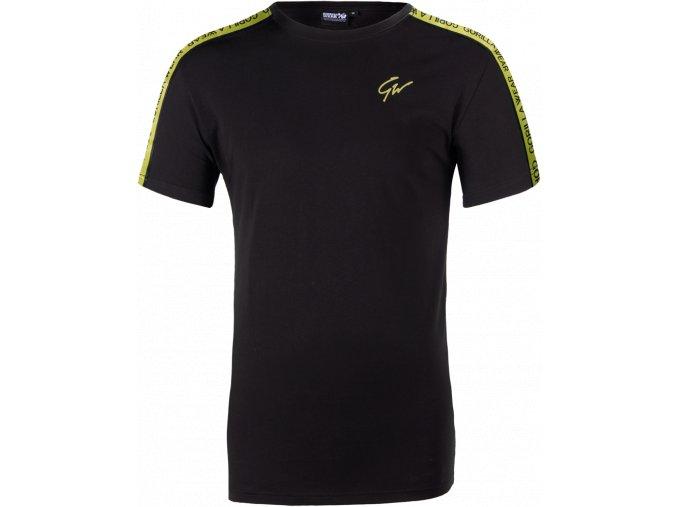 chester t shirt black yellow