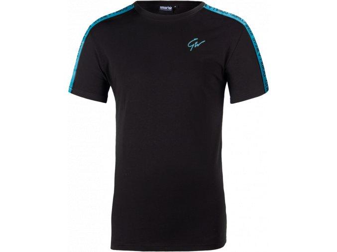 chester t shirt black blue