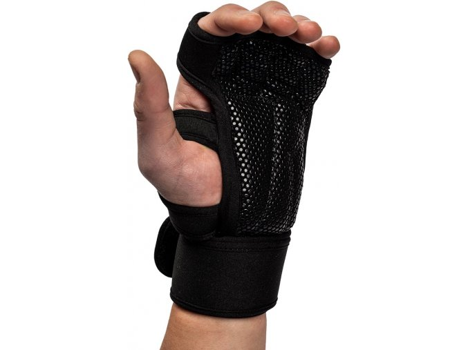 yuma weight lifting workout gloves black