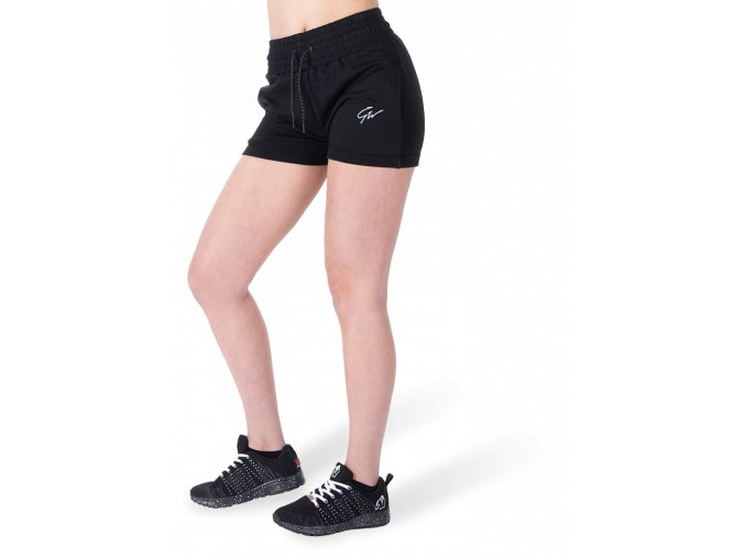 pixley sweatshorts black
