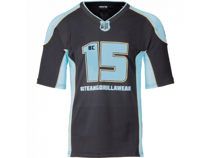 athlete t shirt 20 brandon curry black light blue