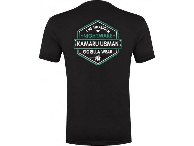 kamaru usman t shirt black
