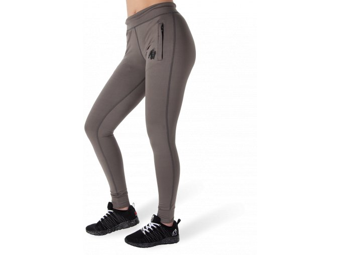 cleveland track pants gray