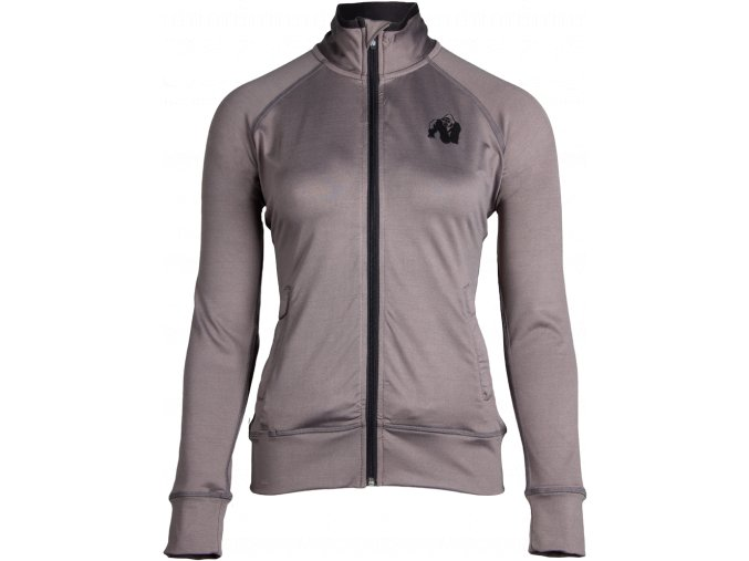 cleveland track jacket gray