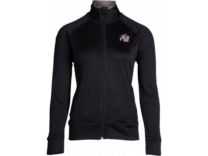 cleveland track jacket black