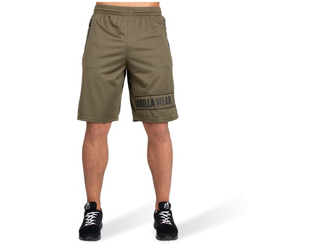 branson shorts army green black 2