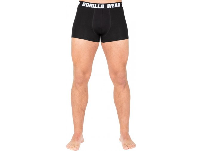 gorilla wear boxershorts 3 pack black