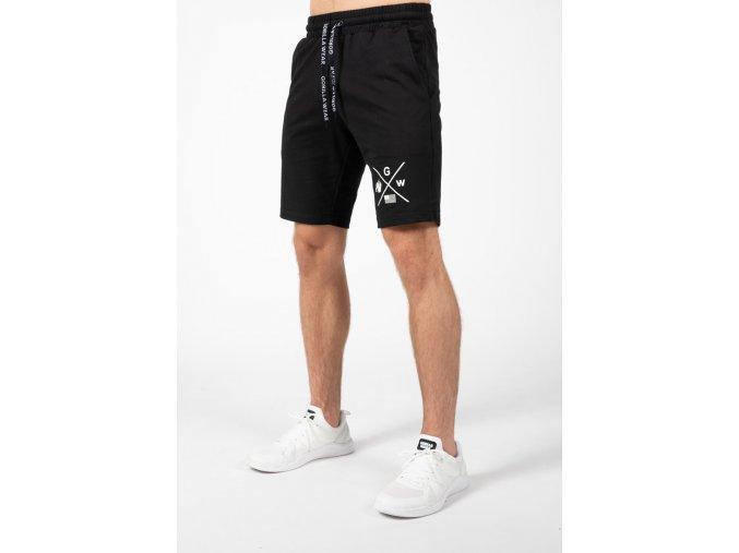 cisco shorts black white 2