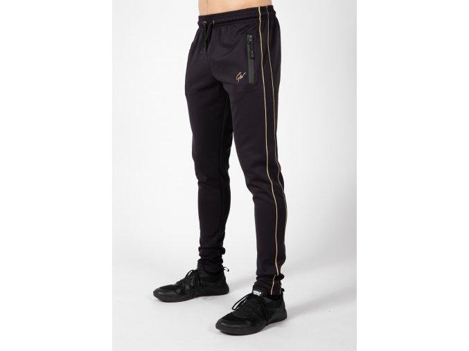 90960922 wenden pants black gold 13