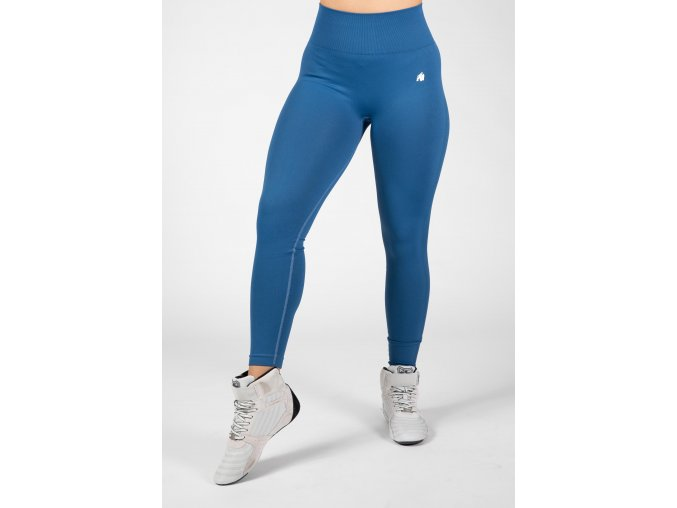91944300 hilton seamless leggings blue 9
