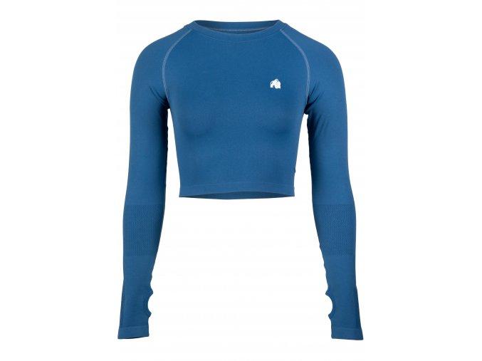 91603300 hilton seamless long sleeve blue 01