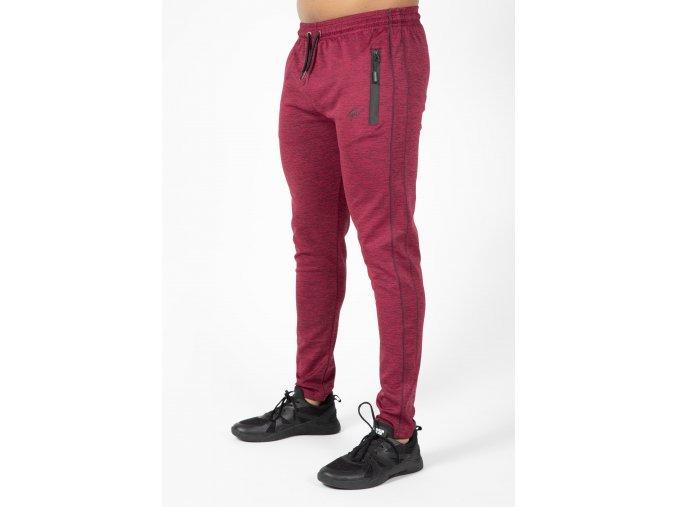 90960500 wenden track pants burgundy red 43
