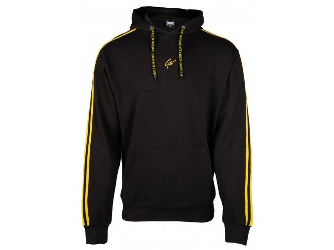 90716920 banks oversized hoodie burgundy black yellow 01
