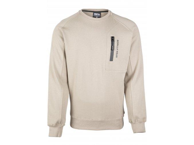 90717120 newark sweater beige 01