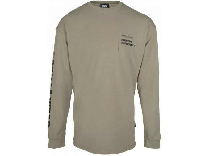 90607409 boise oversized long sleeve army green 01