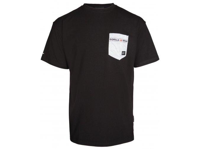 Dover Oversize Tričko - Čierne