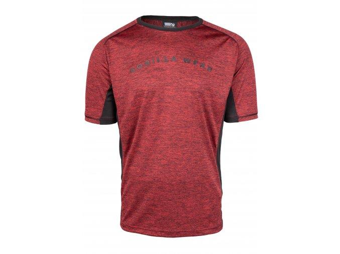 90558509 fremont t shirt burgundy red black 01