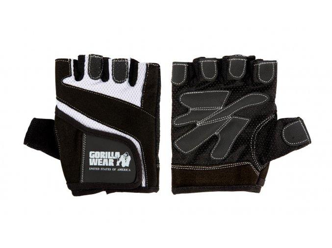 99802901 woman fitness gloves black white 2