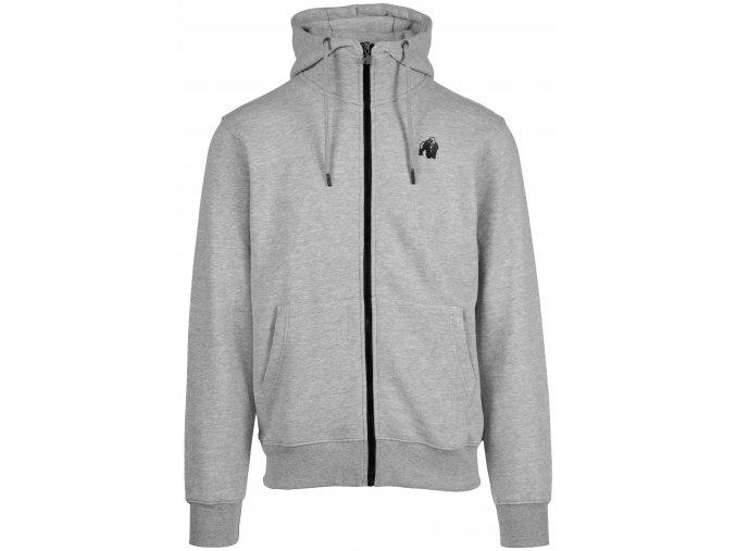 90823800 kennewick zipped hoodie gray 01