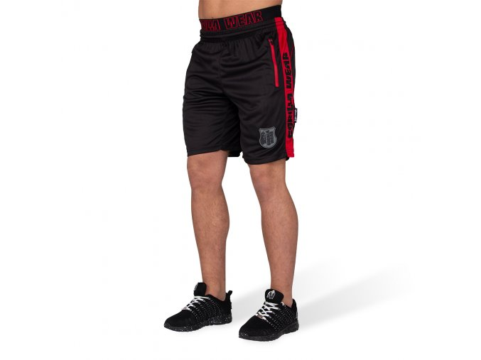 9091495 shelby shorts black red 005