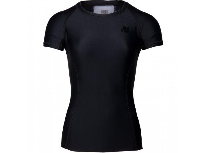 91510909 carlin compression short sleeve top black black 010