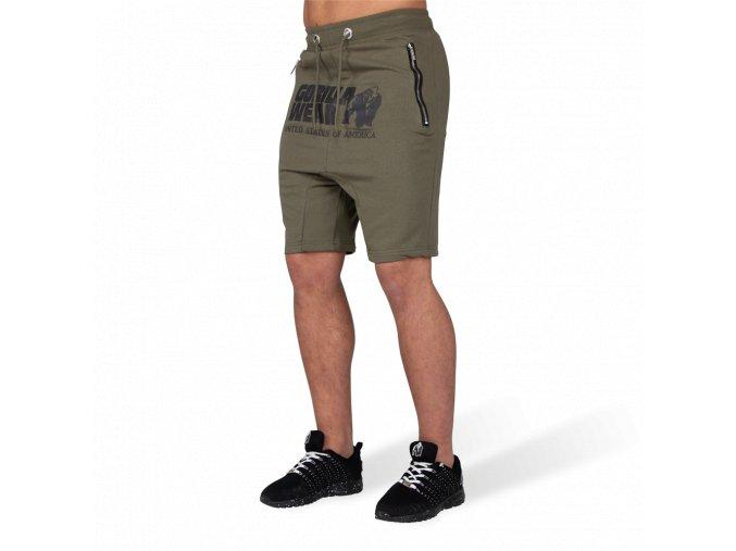 90920409 alabama drop crotch shorts army green 001