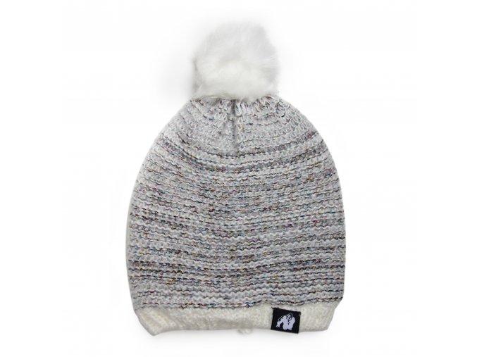 9981810800 bellevue beanie white gray 1