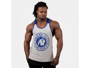 Roswell Tank Top - Gray/Navy