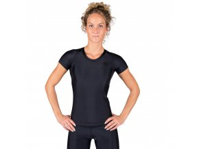 91510909 carlin compression short sleeve top black 2