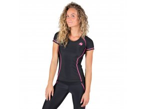 91510906 carlin compression short sleeve top pink 1