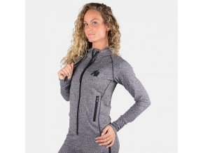 91802800 shawnee zipped hoodie mix gray 3