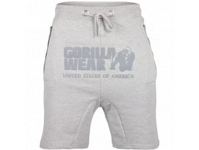 90920800 alabama drop crotch shorts gray 8 1