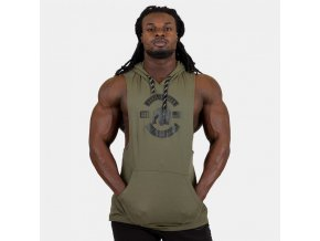 90121400 lawrence hooded tank top army green 2