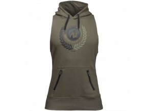 90709400 manti sleeveless hoodie army green 3